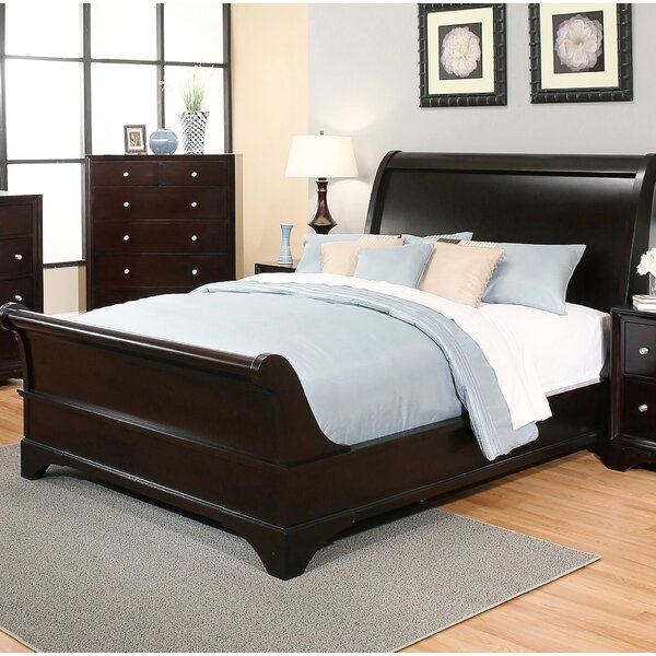 Rooney Sleigh Bed by Winston Porter