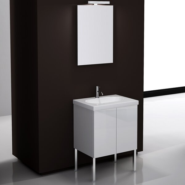 Trendy 23.2 Footed Bathroom Vanity Set by Iotti by Nameeks