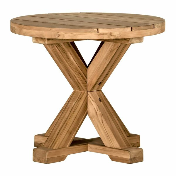 Modena Solid Wood Side Table by Summer Classics