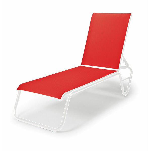 Gardenella Reclining Chaise Lounge (Set of 4) by Telescope Casual