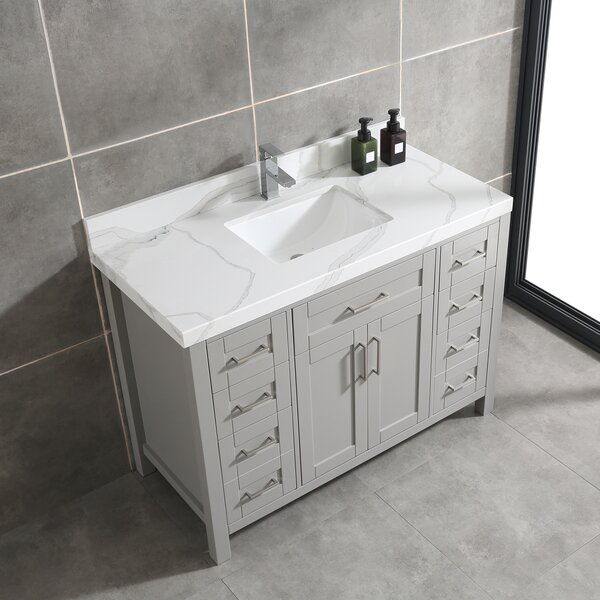 Matherly 42 Single Bathroom Vanity Set