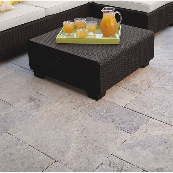Halloran Outdoor Ottoman with Sunbrella Cushions by Ivy Bronx