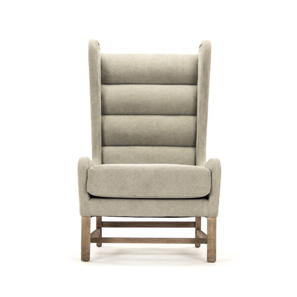 Aile Wingback Chair by Zentique