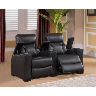 Bristol Home Theater 2 Row Recliner by Coja