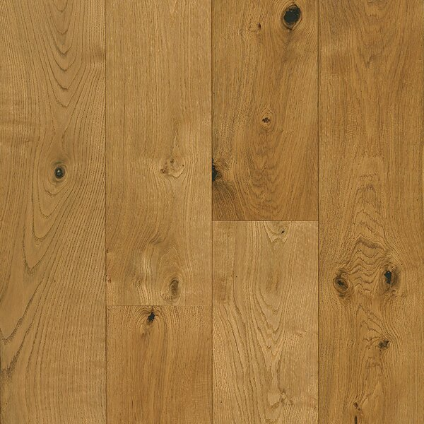 7-1/2 Engineered Oak Hardwood Flooring in Deep Etched Natural by Armstrong Flooring