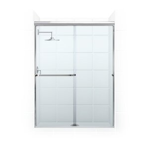 Paragon Series 52″ x 56″ Rectangle Sliding Tub Enclosure