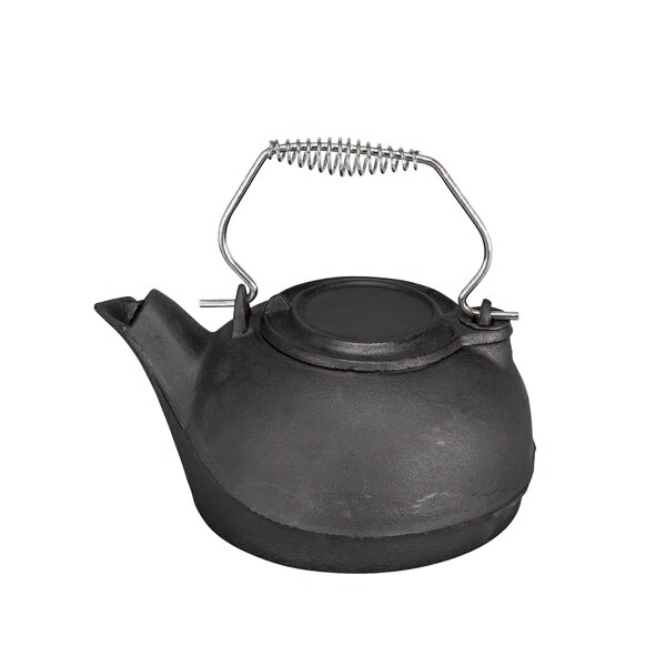 3 Qt. Cast Iron Kettle Steamer by Pleasant Hearth