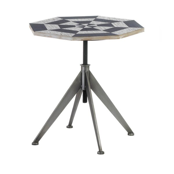 Octagon End Table by Nikki Chu