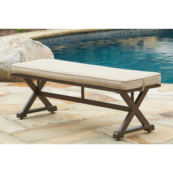 Rosario Aluminum Picnic Bench by Beachcrest Home