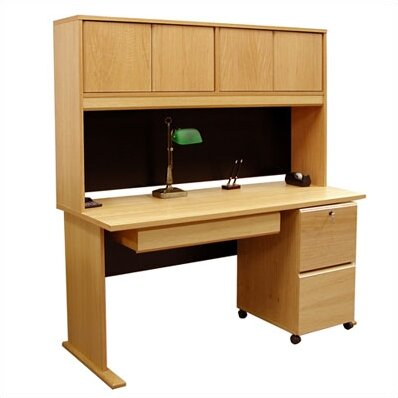 Balido Computer Desk with Hutch