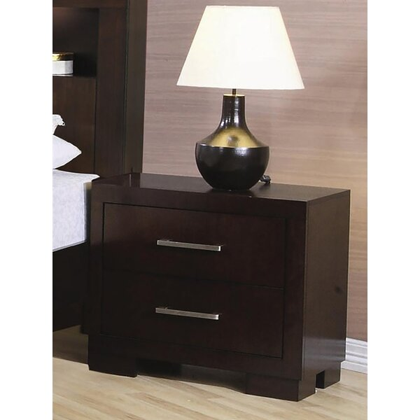 Steadham 2 Drawer Nightstand by Latitude Run