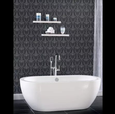 33.5 x 31.5 Freestanding Soaking Bathtub by Miseno