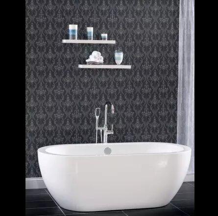 33.5 x 31.5 Freestanding Soaking Bathtub by Miseno