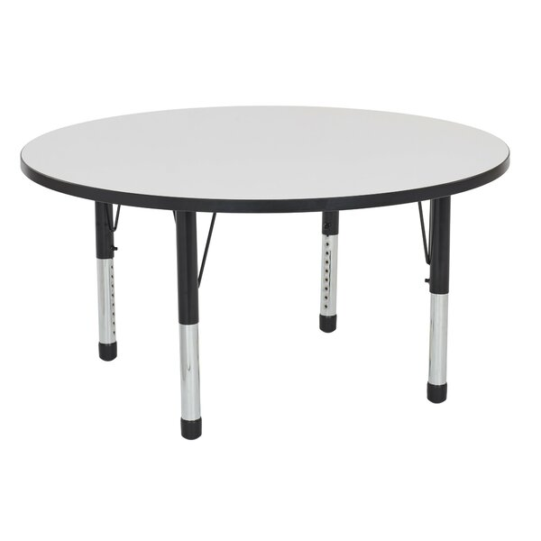 Dry-Erase Adjustable 48Circular Activity Table by ECR4kids