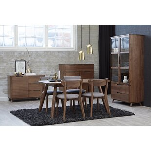 Clayborn 5 Piece Solid Wood Dining Set By Corrigan Studio