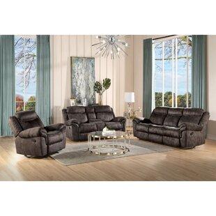 Sona 2 Piece Velvet Configurable Living Room Set by Winston Porter