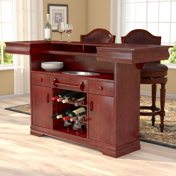 Garrard Home Bar with Wine Storage by Astoria Grand Astoria Grand