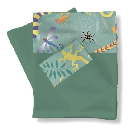 Little Lizards Sheets / Pillowcase Set by Room Magic