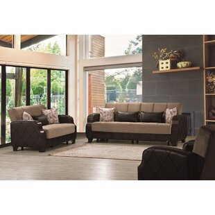 Geranium 3 Pieces Sleeper Living Room Set by Red Barrel Studio®
