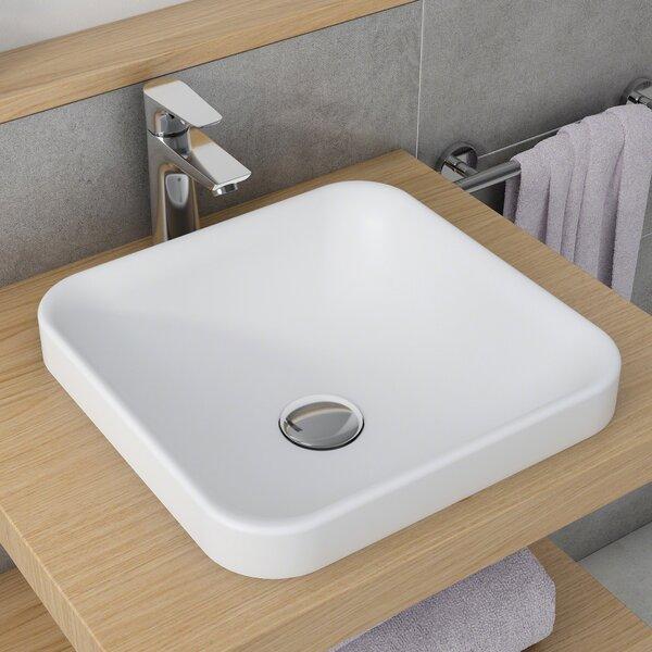 Natura™ Square Vessel Bathroom Sink by Kraus