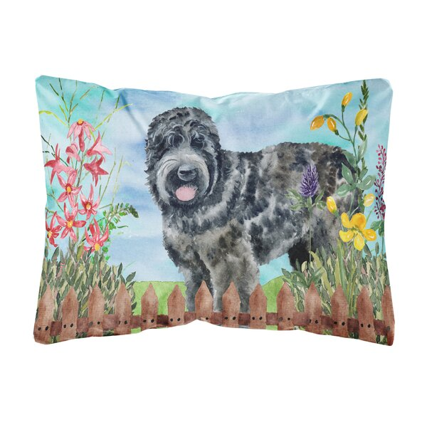 Lambert Russian Terrier Spring Indoor/Outdoor Throw Pillow by Winston Porter