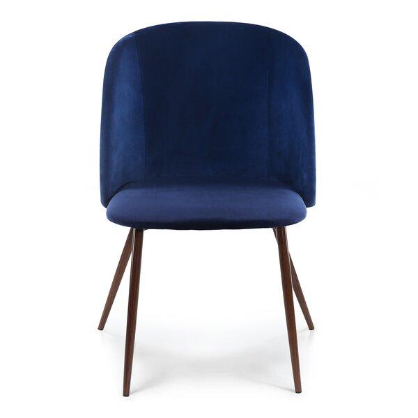 Moraine Velvet Upholstered Side Chair (Set Of 2) By George Oliver