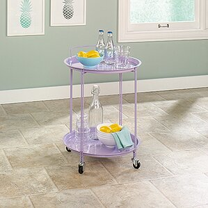 Barnhart Bar Cart by Latitude Run