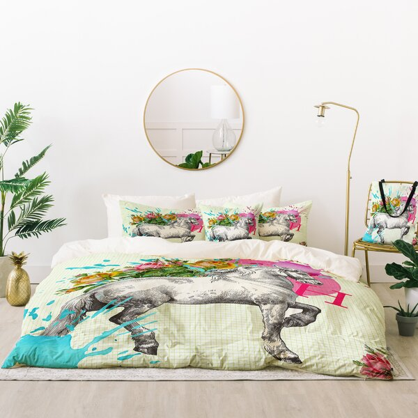 Hello Sayang Lucky Cat Indoor/Outdoor Duvet Cover Set