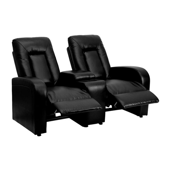 Review 2-Seat Reclining Home Theater Loveseat