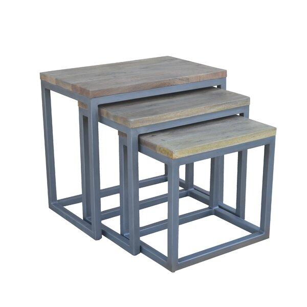 Home & Garden Cassidy 3 Piece Nesting Tables