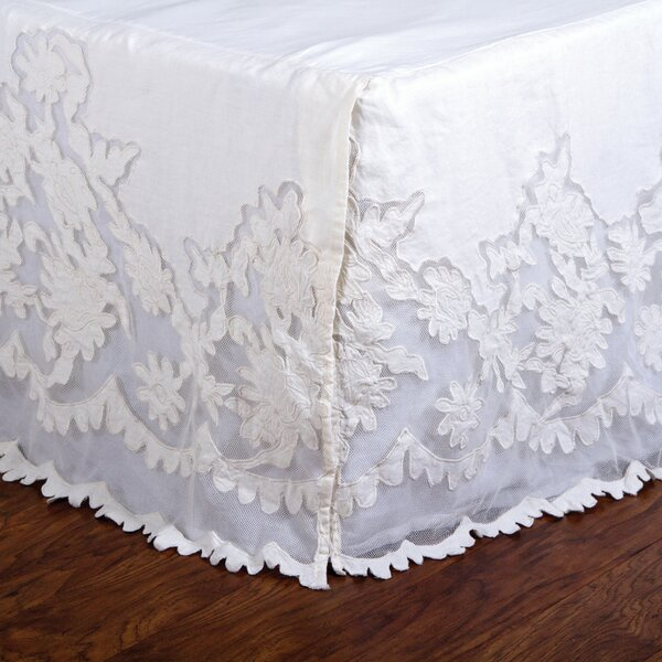 Caprice Pearl Bed Skirt by Pom Pom At Home