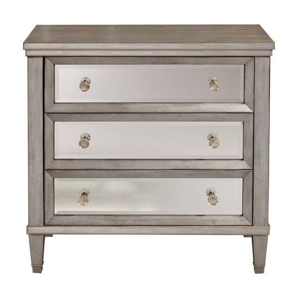 Ricarda 3 Drawer AccentChest by House of Hampton House of Hampton