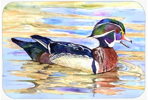 Wood Duck Rectangle Non-Slip Bath Rug