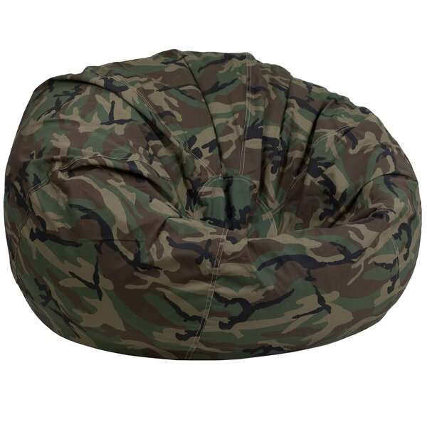 Camouflage Lightweight Kids Bean Bag Chair by Zoomie Kids