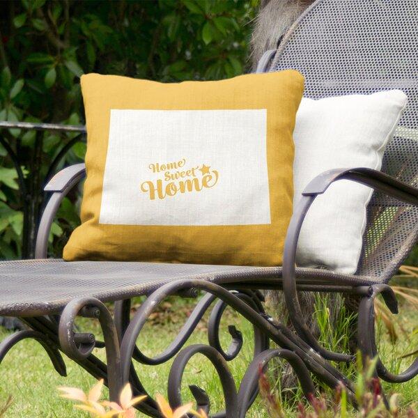 Home Sweet Colorado Springs Indoor/Outdoor Throw Pillow