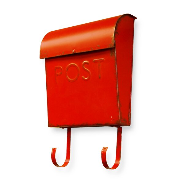 Euro Post Wall Mounted Mailbox by NACH