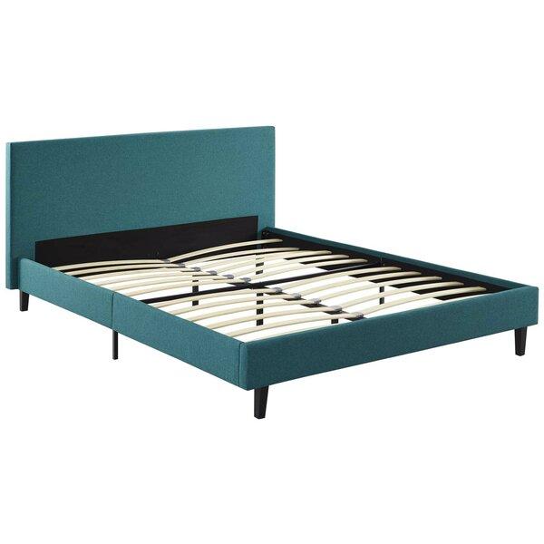 Tomaszewski Upholstered Sleigh Bed by Mistana