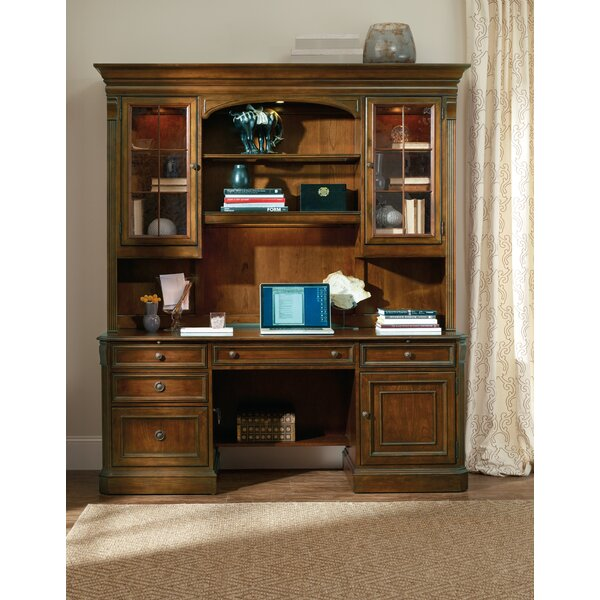 Brookhaven 54'' H x 75.5'' W Desk Hutch by Hooker Furniture