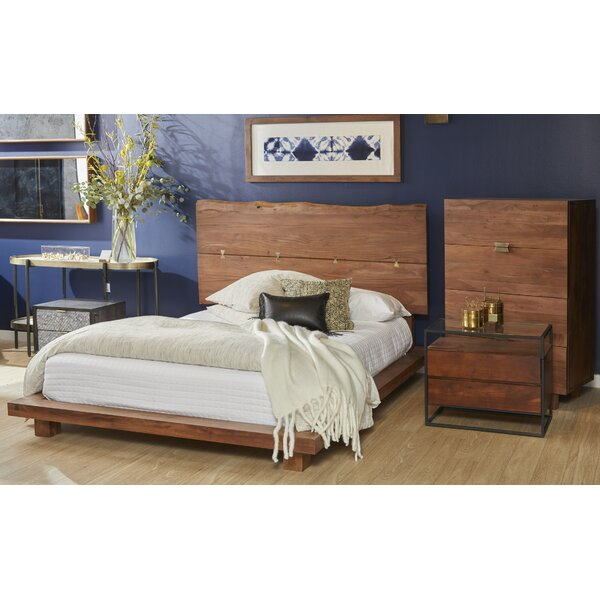 Sandiford Queen Platform Solid Wood Configurable Bedroom Set by Union Rustic