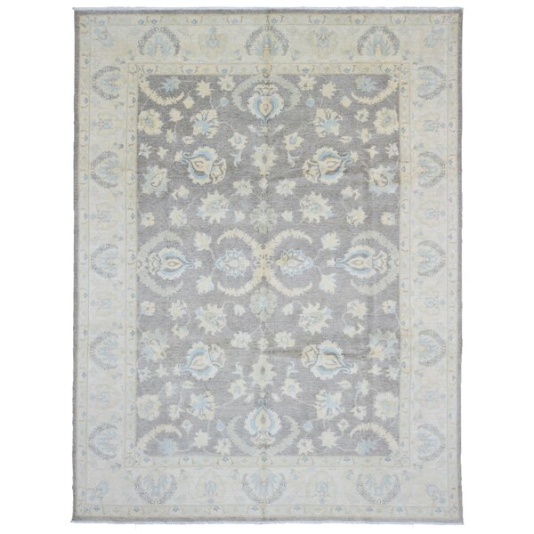 Baron Hand Woven Wool Brown/Beige Area Rug by Isabelline