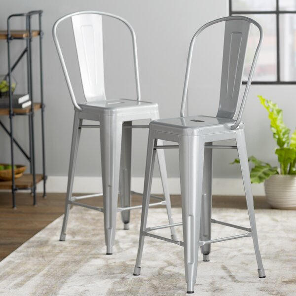 Louisa 26 Bar Stool (Set of 2) by Zipcode Design