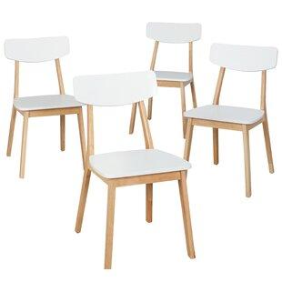 Eppler Modern Dining Chair (Set of 4)  sc 1 st  Wayfair & 4 Kitchen u0026 Dining Chairs Youu0027ll Love | Wayfair