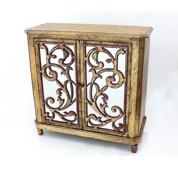 Leamon Wooden 2 Door Accent Cabinet by Astoria Grand Astoria Grand