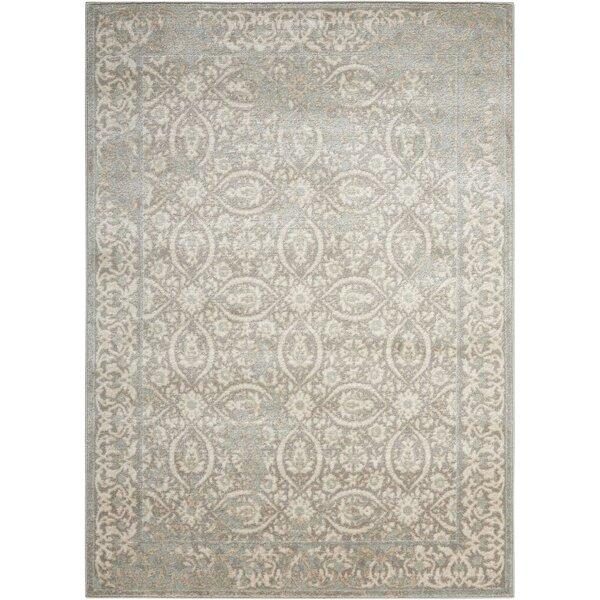 Menthe Gray Area Rug by Lark Manor