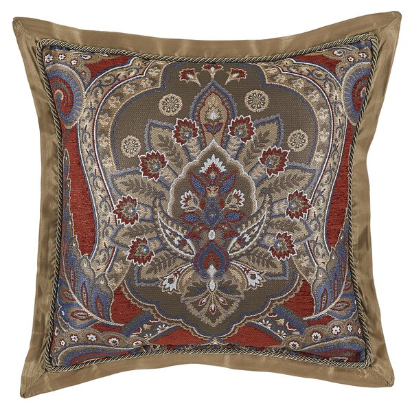 Margaux Square Throw Pillow by Croscill Home Fashions