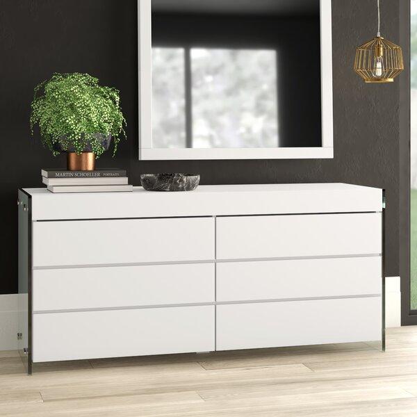 Mcduffy 6 Drawer Double Dresser by Mercury Row