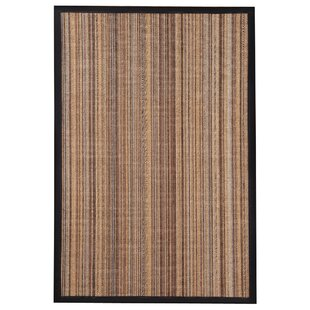 Best Reviews HandWoven Brown/Gray/Black Area Rug ByThe Conestoga Trading Co.