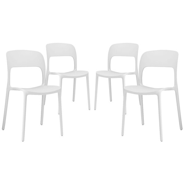 Bohr Side Chair (Set of 4) by Wrought Studio