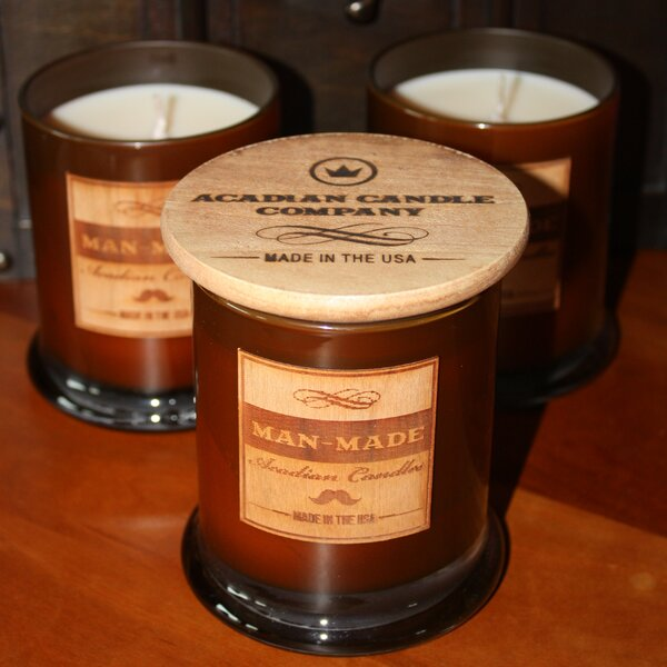Fresh Cobalt Jar Candle by Acadian Candle