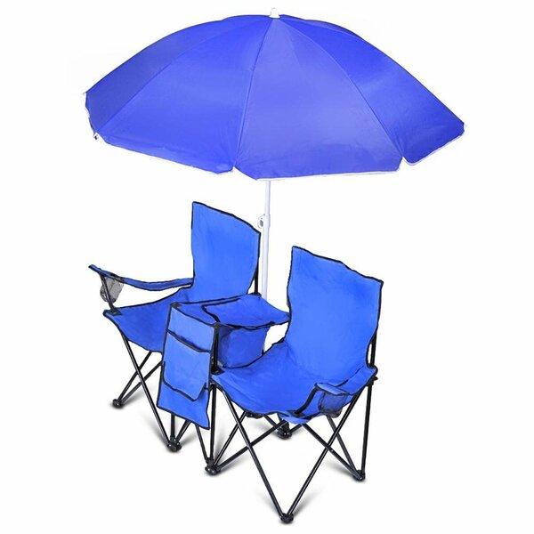 GoTeam Folding Beach Chair By Freeport Park